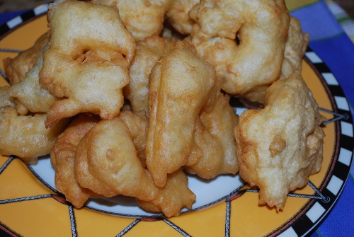 Picture of Chanukah Bumuelos aka Turkish Beignets